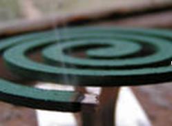 Инсектицидные спирали для защиты от комаров.